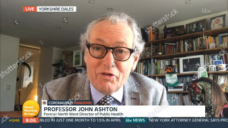Stock Photo of Prof John Ashton