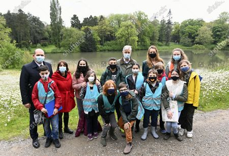 Editorial picture of Royal Castle Park Biodiversity School Visit, Brussels, Belgium - 19 May 2021