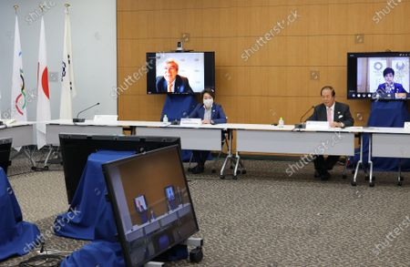 Editorial image of Olympics Tokyo 2020 Coordination Commission, Tokyo, Japan - 19 May 2021