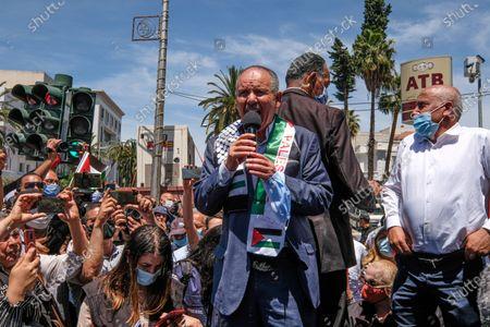 Editorial picture of Pro Palestine protest, Tunis, Tunisia - 19 May 2021