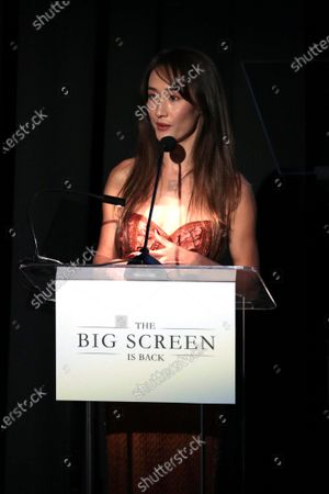 Editorial image of The Big Screen is Back presentation, AMC Century City 15, Los Angeles, CA, USA - 19 May 2021