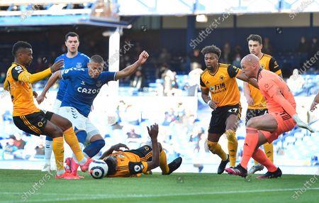Editorial image of Everton FC vs Wolverhampton Wanderers, Liverpool, United Kingdom - 19 May 2021