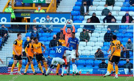 Editorial photo of Everton FC vs Wolverhampton Wanderers, Liverpool, United Kingdom - 19 May 2021