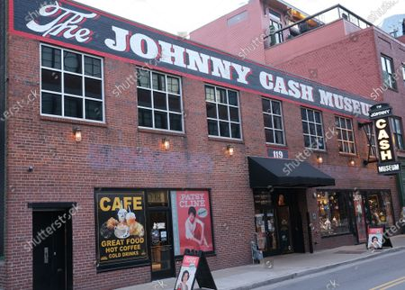 Stock Photo of The Johnny Cash Museum in Nashville, Tennessee