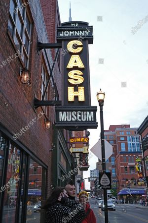 The Johnny Cash Museum in Nashville, Tennessee