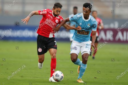 Editorial image of Sporting Cristal vs. Rentistas, Lima, Peru - 19 May 2021