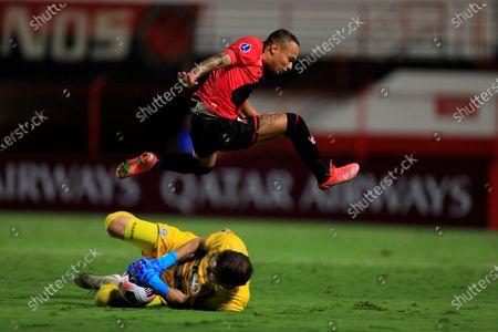 Editorial photo of Atletico Goianiense vs Libertad, Goiania, Brazil - 19 May 2021
