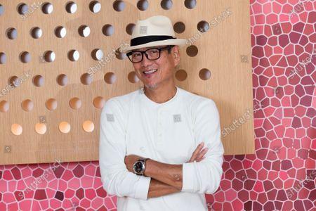 Stock Photo of Chef Masaharu Morimoto poses for a photo at Momosan Wynwood, in Miami, Fla