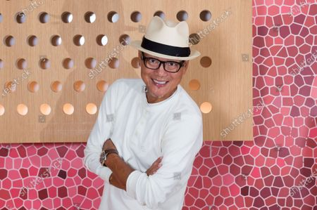 Stock Picture of Chef Masaharu Morimoto poses for a photo at Momosan Wynwood, in Miami, Fla