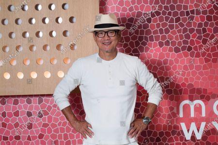 Chef Masaharu Morimoto poses for a photo at Momosan Wynwood, in Miami, Fla