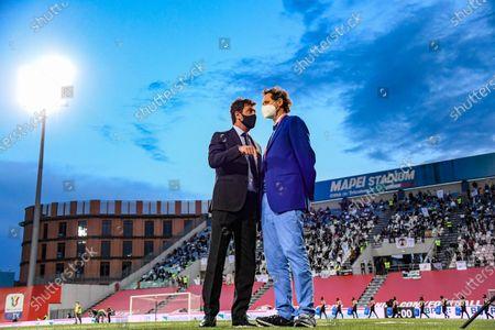 Editorial photo of Soccer: Serie Italy Cup 2020-2021 : Atalanta 1-2 Juventus, Reggio Emilia, Italy - 19 May 2021