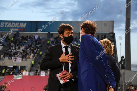Editorial image of Soccer: Serie Italy Cup 2020-2021 : Atalanta 1-2 Juventus, Reggio Emilia, Italy - 19 May 2021