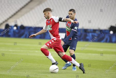 Caio Henrique of Monaco, Mauro Icardi of PSG