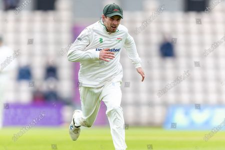 Sam Evans during Day 2 of the LV= Insurance County Championship match between Hampshire County Cricket Club and Leicestershire County Cricket Club at the Ageas Bowl, Southampton