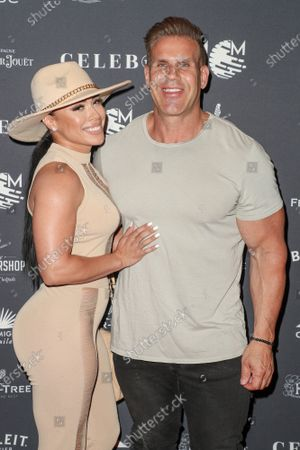 Angie Feliciano and Jay Cutler
