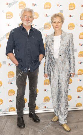 Jenny Seagrove and Martin Shaw