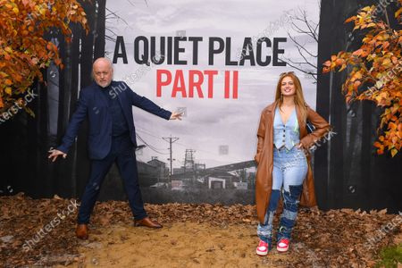 Bill Bailey and Maisie Smith