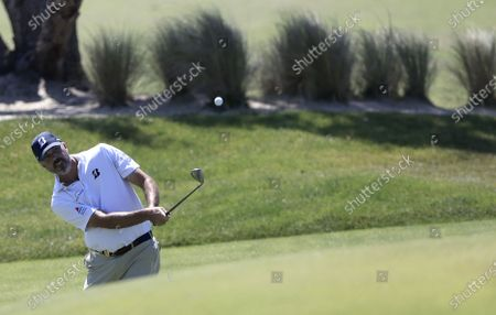 Matt Kuchar of the US chips on the third hole during the first round of the 2021 PGA Championship golf tournament on the Ocean Course at Kiawah Island, South Carolina, USA, 20 May 2021. The PGA Championship runs from 20 May through 23 May.