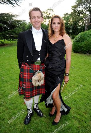 Scott Douglas with Tracey Emin
