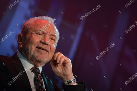 Lord Alan Sugar, Business Titan And Star Of The Apprentice UK, speaks at Pendulum Summit, World's Leading Business and Self-Empowerment Summit, in Dublin Convention Center. On Thursday, January 10, 2019, in Dublin, Ireland.  On Wednesday, 8 January 2020, in Dublin, Ireland.