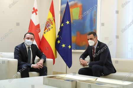 Editorial image of Gerogian Prime Minister Irakli Garibashvili visits Madrid, Spain - 20 May 2021
