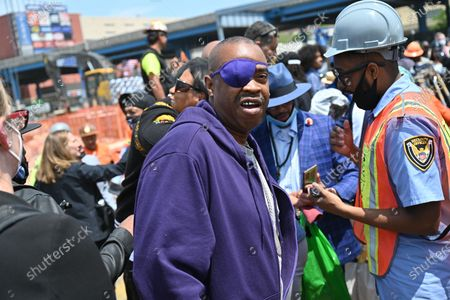 Editorial image of Groundbreaking for Bronx Point and the Universal Hip Hop Museum, New York, USA - 20 May 2021