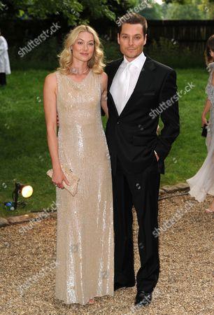 Seb Bishop and wife Heidi Wichlinski