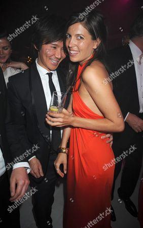 Andy Wong with Amanda Shepherd