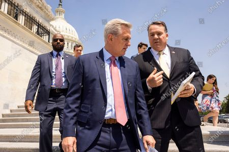 Editorial picture of McCarthy, Republicans recognize Cuban Independence Day, Washington, USA - 20 May 2021