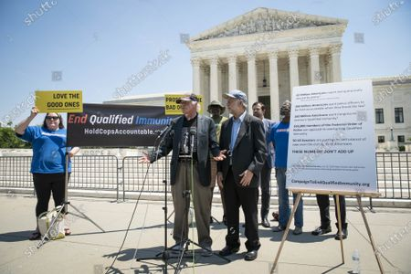 Editorial photo of Ben & Jerry's Co-founders Hold News Conference on Police Reform, Washington DC, USA - 20 May 2021