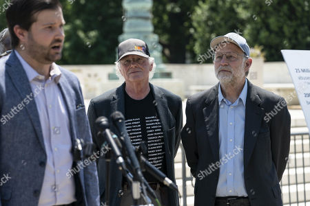 Editorial picture of Ben & Jerry's Co-founders Hold News Conference on Police Reform, Washington DC, USA - 20 May 2021