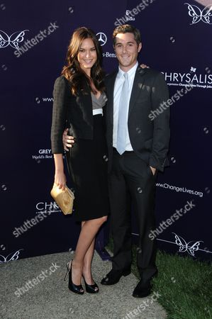 Odette Yustman and David Annable