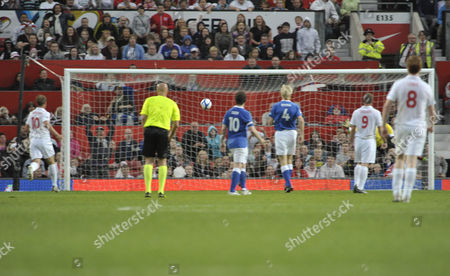 Editorial image of 'Soccer Aid 2010',Old Trafford, Manchester, Britain.- 06 Jun 2010