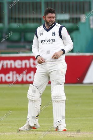 Tim Bresnan of Warwickshire CCC  during   LV Insurance County Championship Group 1 Day One of Four between Essex CCC and Warwickshire  CCC at The Cloudfm County Ground on 20th May , 2021 in Chelmsford, England