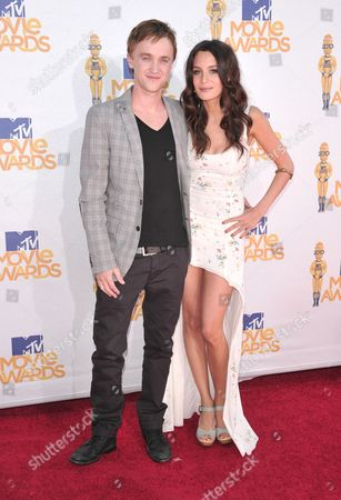 Tom Felton and Jade Gordon