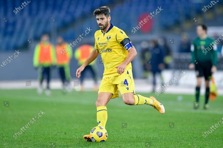 Miguel Veloso of Hellas Verona during the Serie A match between SS Lazio and Hellas Verona at Stadio Olimpico, Rome, Italy on 12 December 2020.