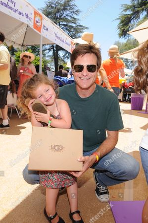 Jason Bateman and daughter Francesca Bateman