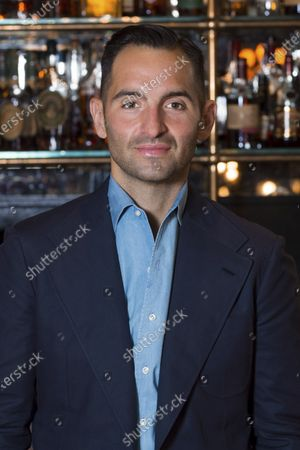 Chef Mario Carbone poses for a photo at Carbone, in Miami Beach, Fla