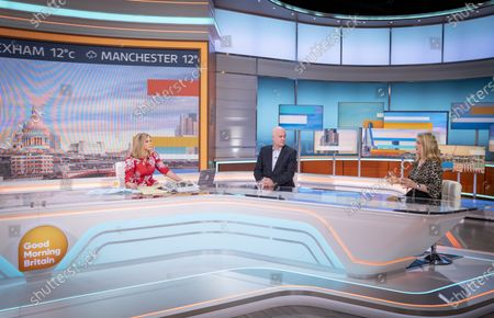 Stock Image of Kate Garraway, Iain Dale and Jacqui Smith