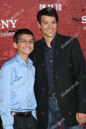 Ralph Macchio and his son Daniel Macchio