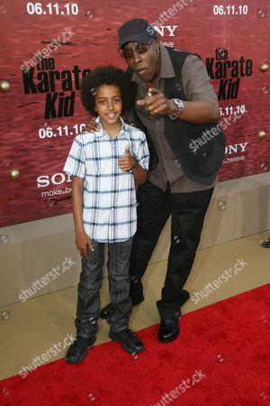 Arsenio Hall and son Arsenio Hall Jr