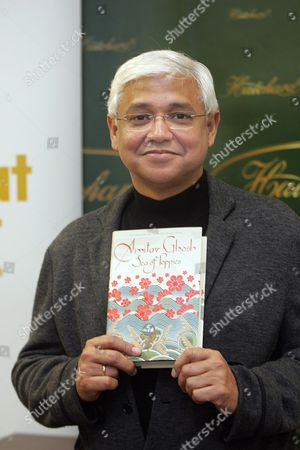 Man Booker Prize For Fiction 2008: - Shortlist Amitav Ghosh - Sea Of Poppies Picture By Glenn Copus