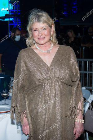 Martha Stewart attends SOBEWFF® 20th Anniversary Celebration at Fontainebleau Hotel, in Miami Beach, Fla