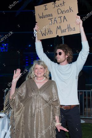 Stock Picture of Martha Stewart and Seth Jacob Phillips attend SOBEWFF® 20th Anniversary Celebration at Fontainebleau Hotel, in Miami Beach, Fla