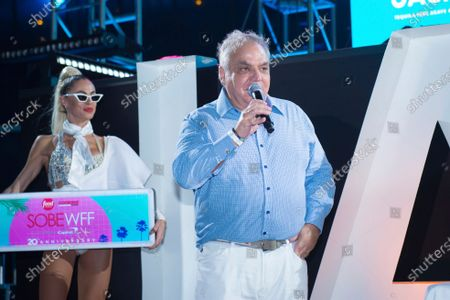 Lee Brian Schrager attends SOBEWFF® 20th Anniversary Celebration at Fontainebleau Hotel, in Miami Beach, Fla