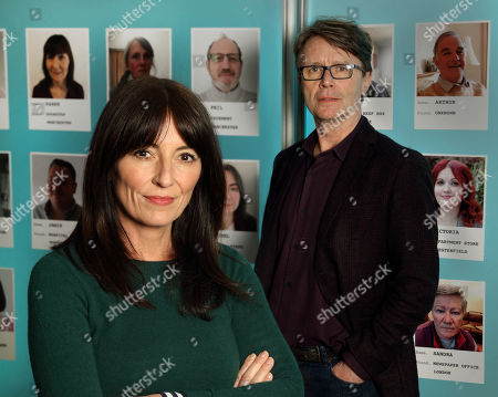 Presenters Davina McCall and Nicky Campbell