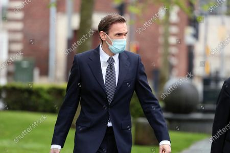 Stock Picture of TV presenter and Dr Christian Jessen pictured today at Belfast High Court. The judge ordered his to travel to Belfast for the case with First Minister Arlene Foster.