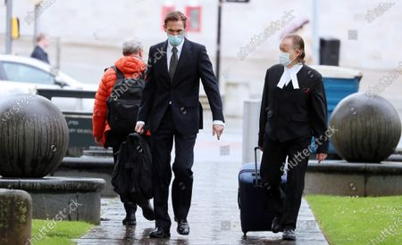 Editorial photo of Dr Christian Jessen at Belfast High Court, Belfast, Northern Ireland - 21 May 2021