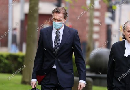 Editorial picture of Dr Christian Jessen at Belfast High Court, Belfast, Northern Ireland - 21 May 2021