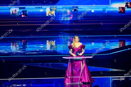 Nikkie de Jager during the first dress rehearsal of the final of the Eurovision Song Contest 2021 at Ahoy arena in Rotterdam, Netherlands
